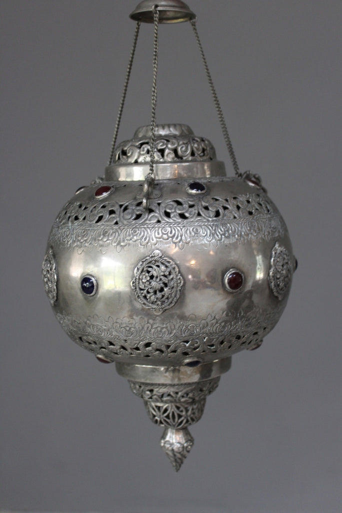 Turkish Hanging Lamp - Kernow Furniture