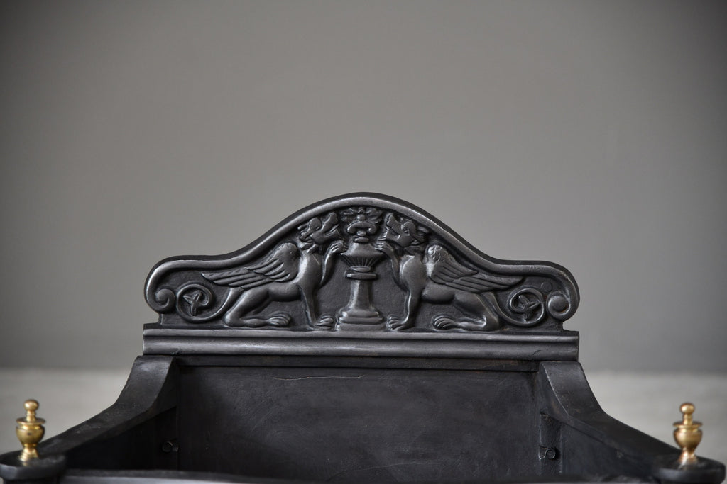 Cast Iron Fire Basket - Kernow Furniture