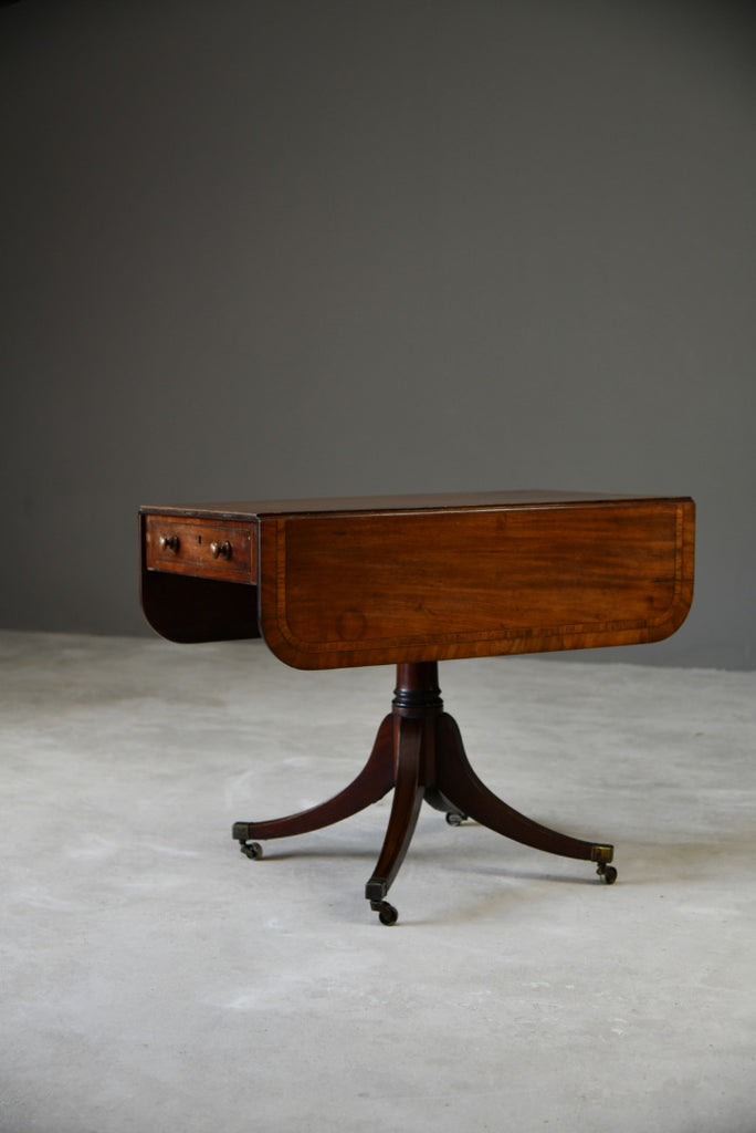 Antique Regency Mahogany Pembroke Table - Kernow Furniture