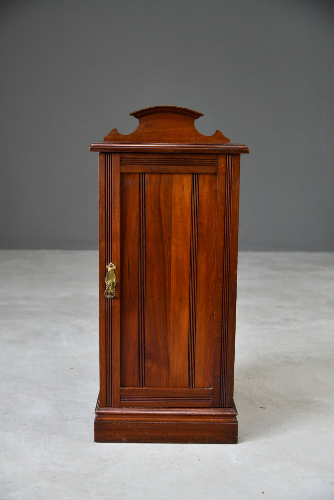 Edwardian Walnut Pot Cupboard - Kernow Furniture