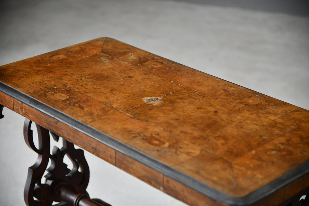 Victorian Inlaid Occasional Table - Kernow Furniture