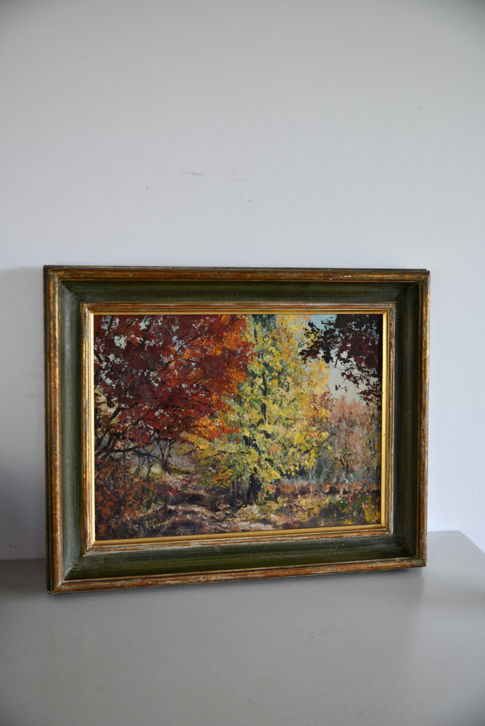 Autumnal Woodland Scene - Kernow Furniture