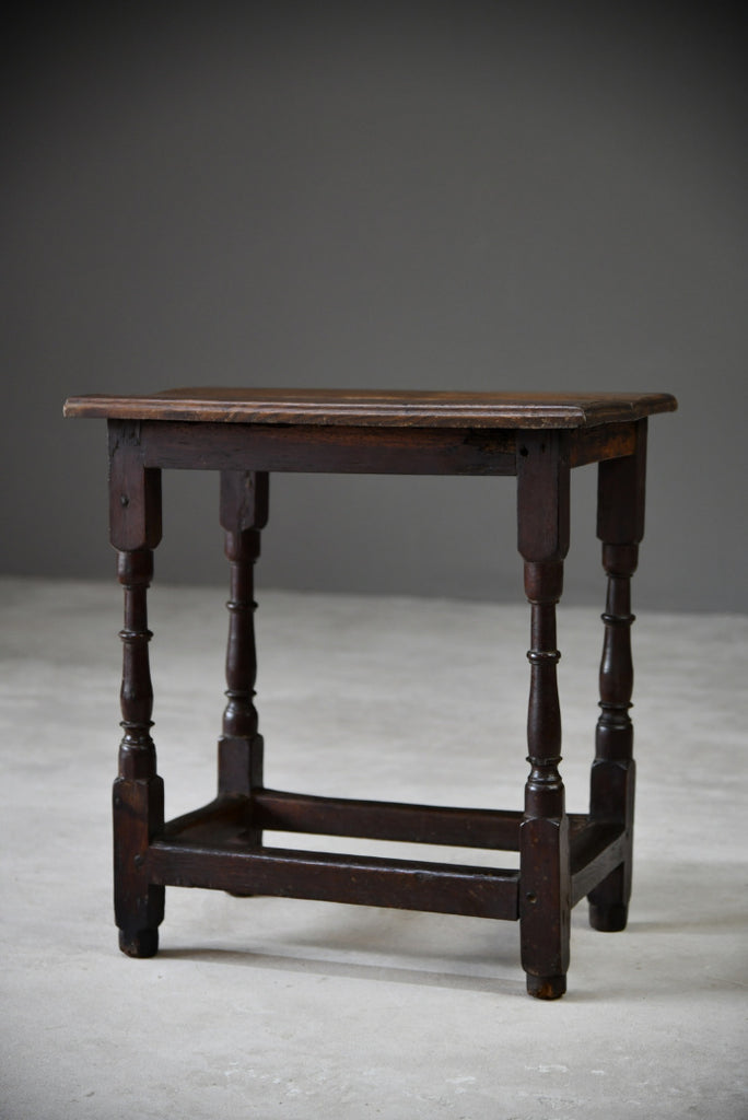 Antique 17th Century Style Oak Table - Kernow Furniture