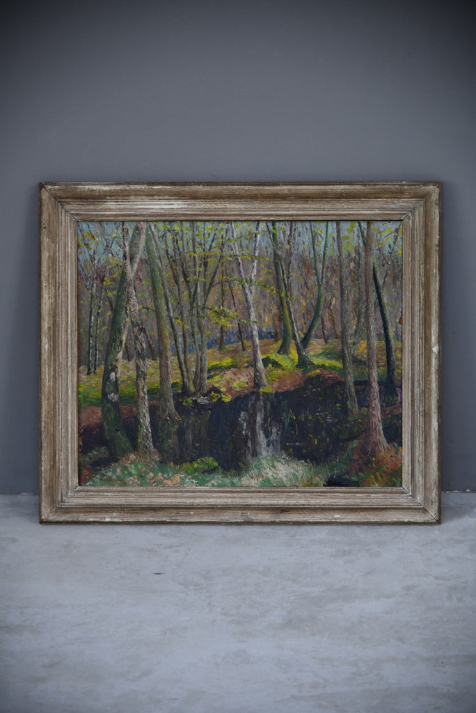 Woodland Scene - Harbert H Newton - Kernow Furniture