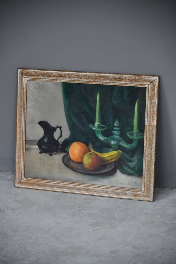 Still Life - Oil On Canvas - Kernow Furniture