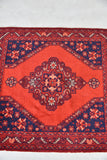 Vintage Red Eastern Rug - Kernow Furniture