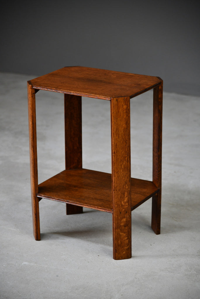 Small Oak Side Table - Kernow Furniture