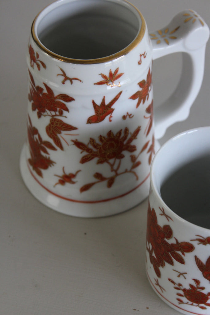 Vintage Japanese Porcelain Ware Mugs - Kernow Furniture