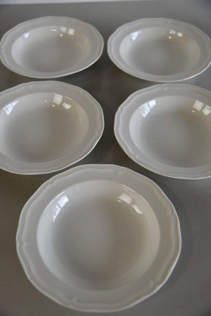 5 Villeroy & Boch Manoir Bowls - Kernow Furniture