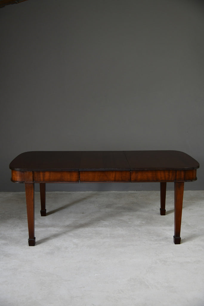 Mahogany Extending Dining Table - Kernow Furniture