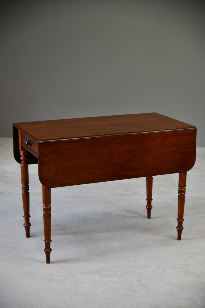 Antique Mahogany Pembroke Table - Kernow Furniture
