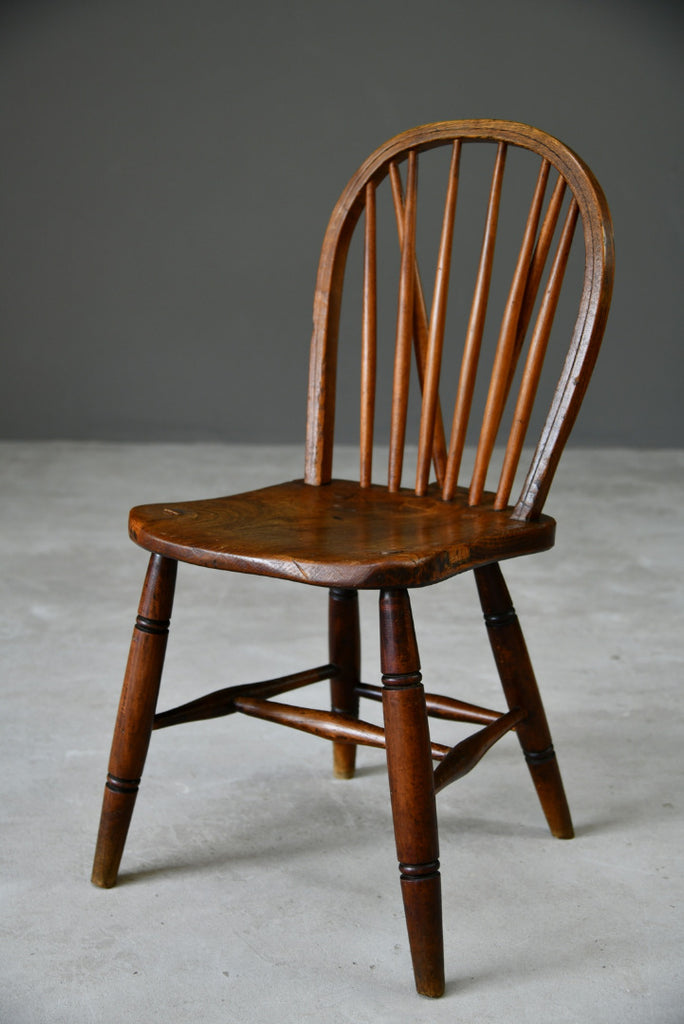 Hoop & Stick Back Kitchen Chair - Kernow Furniture