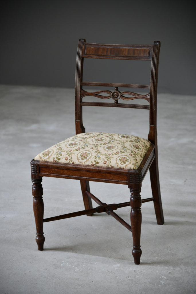 Early 19th Century Mahogany Dining Chair - Kernow Furniture