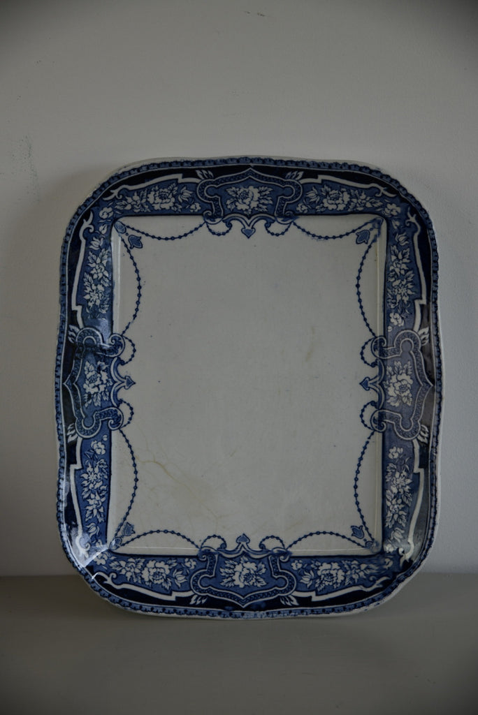 Blue & White Platter - Kernow Furniture
