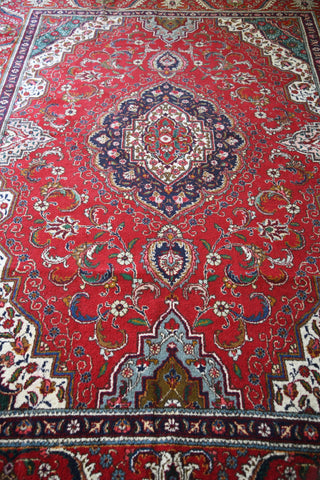 Large Persian Tabriz Rug - Kernow Furniture