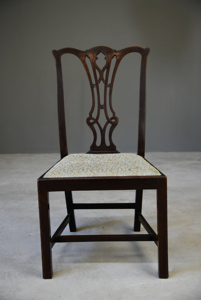 Single Chippendale Style Dining Chair - Kernow Furniture