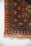 Gold Afghan Wool Rug - Kernow Furniture