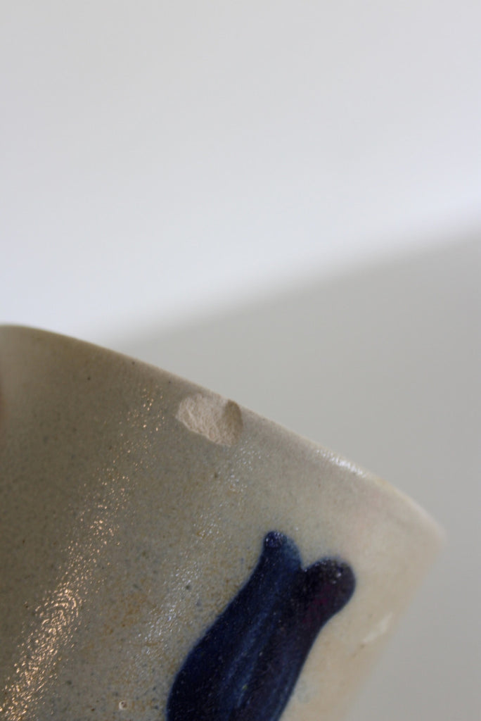 Blue Stoneware Pottery - Kernow Furniture