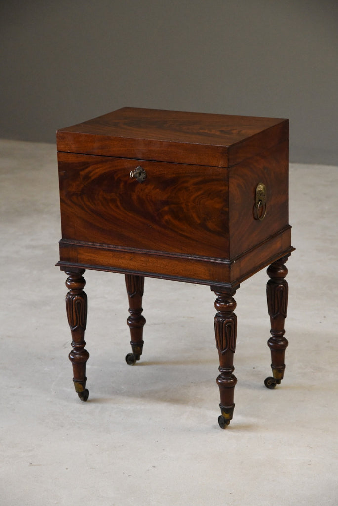 George III Mahogany Cellarette - Kernow Furniture