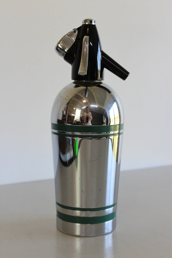 Vintage Sparklets Chrome Soda Syphon - Kernow Furniture