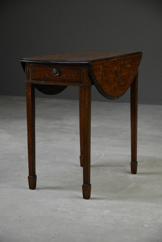Regency Style Inlaid Table - Kernow Furniture