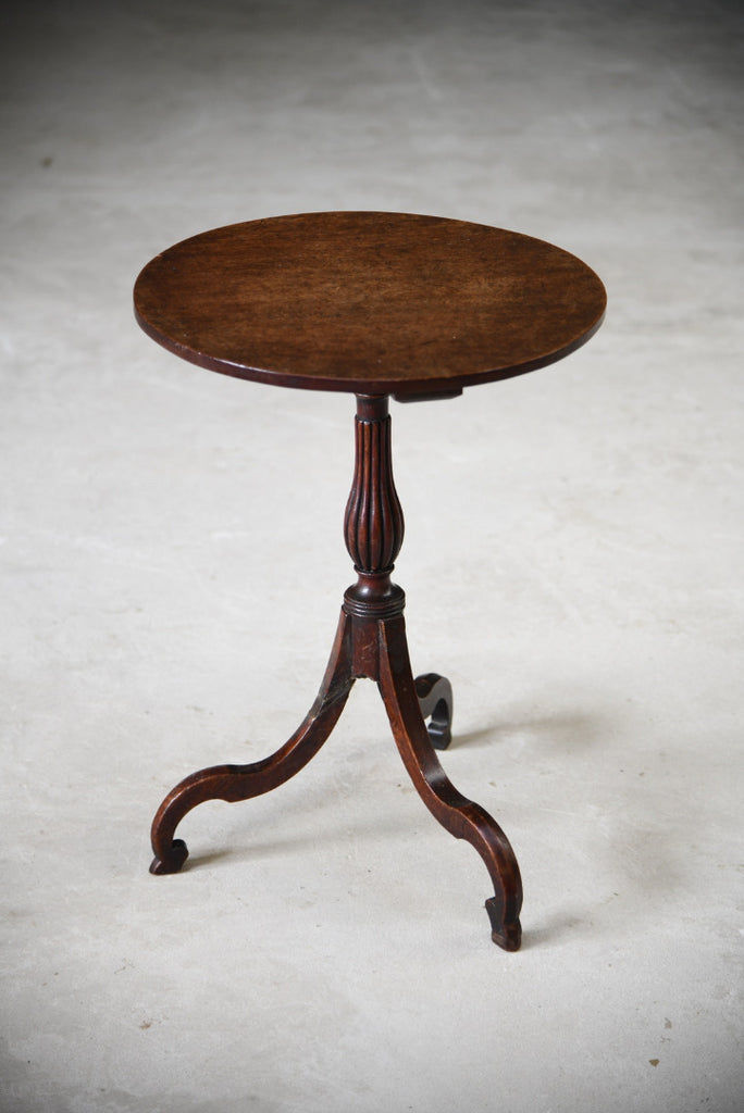 19th Century Mahogany Side Table - Kernow Furniture