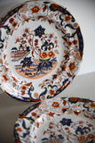 Pair Imari Decorative Plates - Kernow Furniture