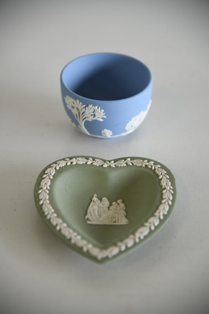 Wedgwood Jasperware Pin Dish & Bowl - Kernow Furniture