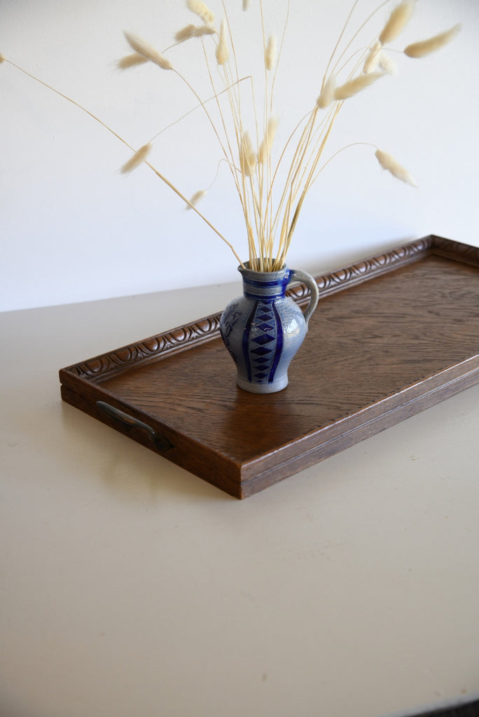 Vintage Oak Tray - Kernow Furniture