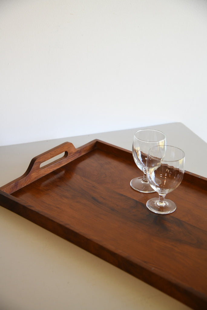 Large Walnut Tray - Kernow Furniture