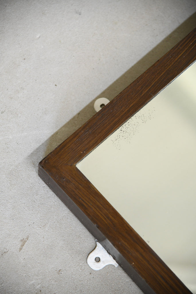 Traditional Style Rectangular Wall Mirror - Kernow Furniture