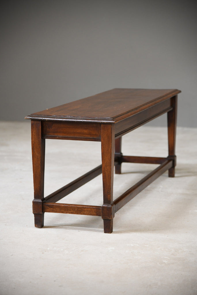 Mahogany Low Side Table - Kernow Furniture