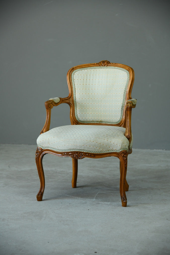Louis XVI Style Occasional Chair - Kernow Furniture