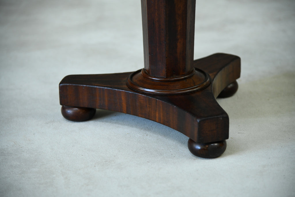 Victorian Mahogany Stool - Kernow Furniture