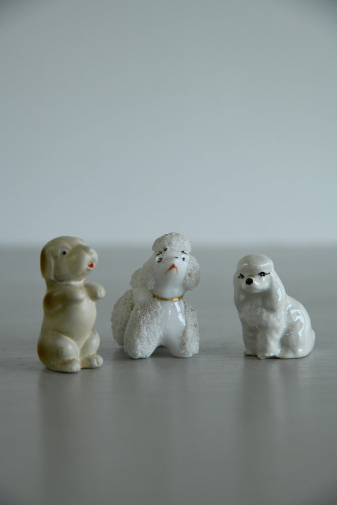 3 Tiny Dog Ornaments - Kernow Furniture