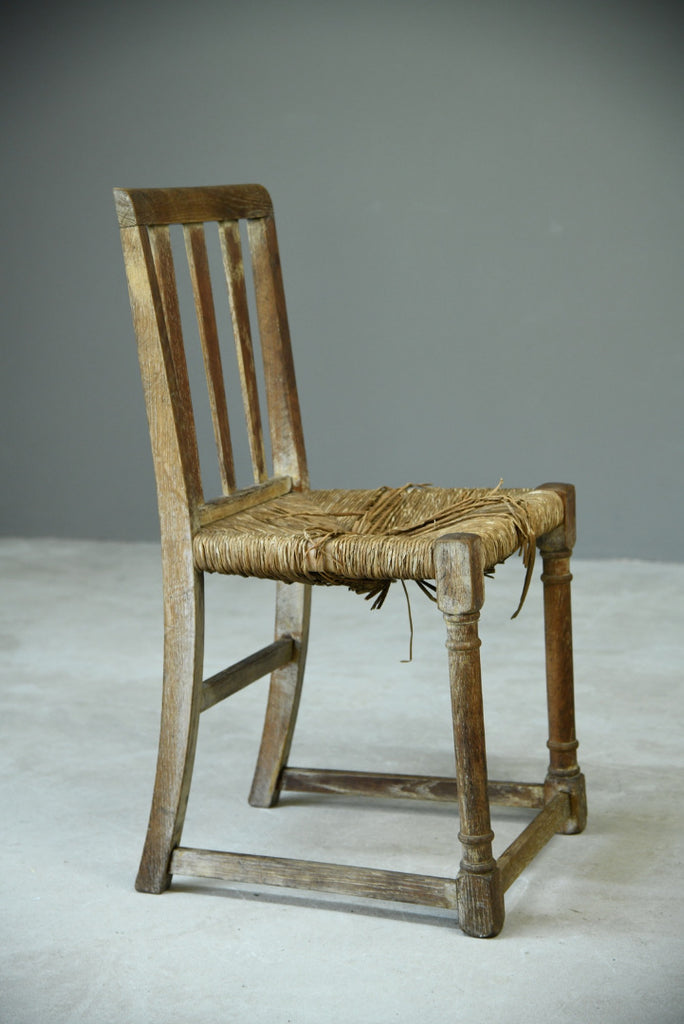 Oak Arts & Crafts Chair - Kernow Furniture