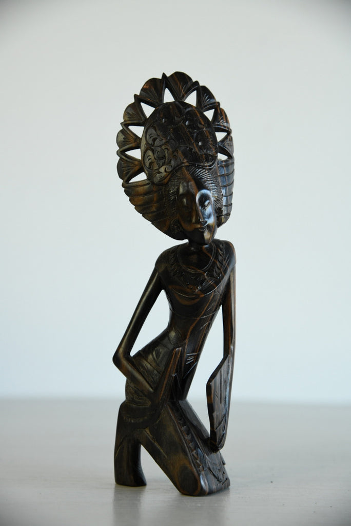 Indonesian Carved Figurine - Kernow Furniture