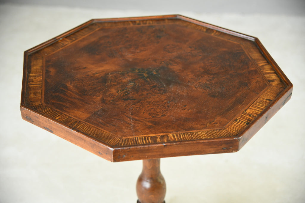 Octagonal Occasional Table - Kernow Furniture