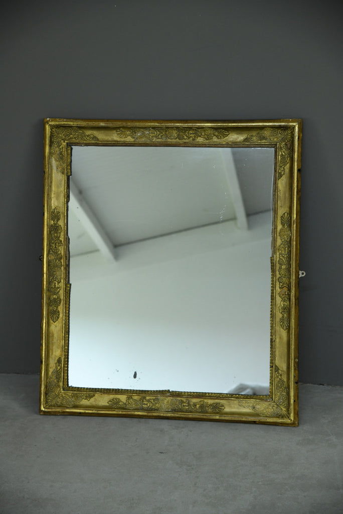 Antique Gilt Wall Mirror