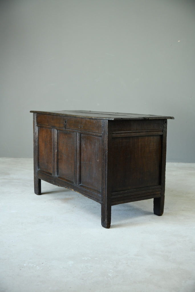 Antique 18th Century Oak Coffer