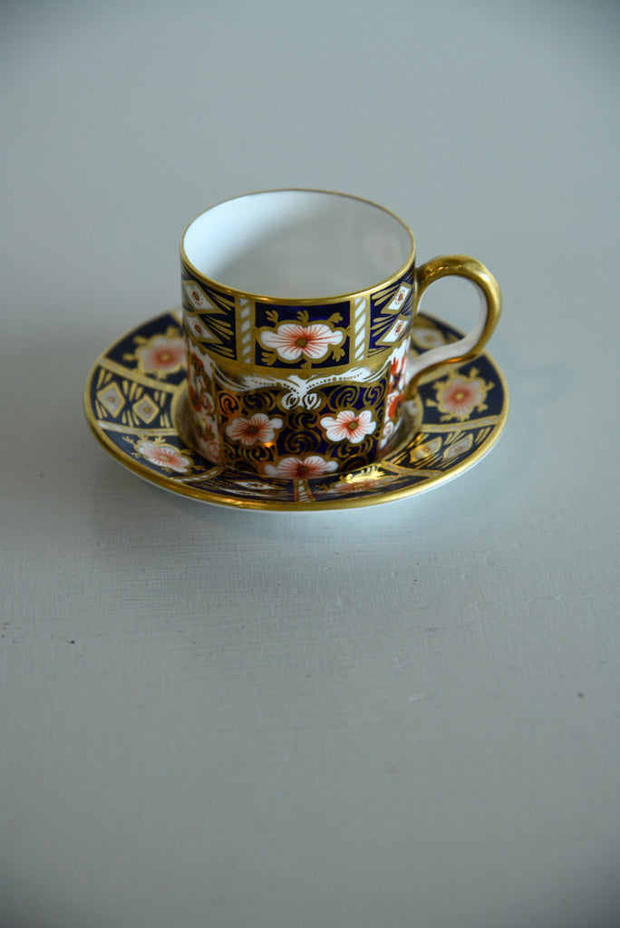 Crown Derby Coffee Cup