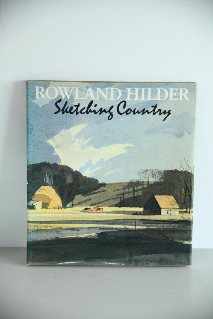 Rowland Hilder - Sketching Country