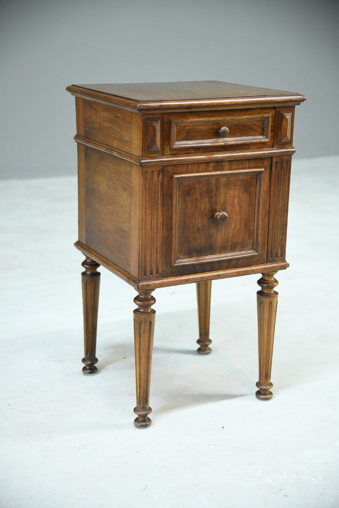 Antique French Walnut Pot Cupboard