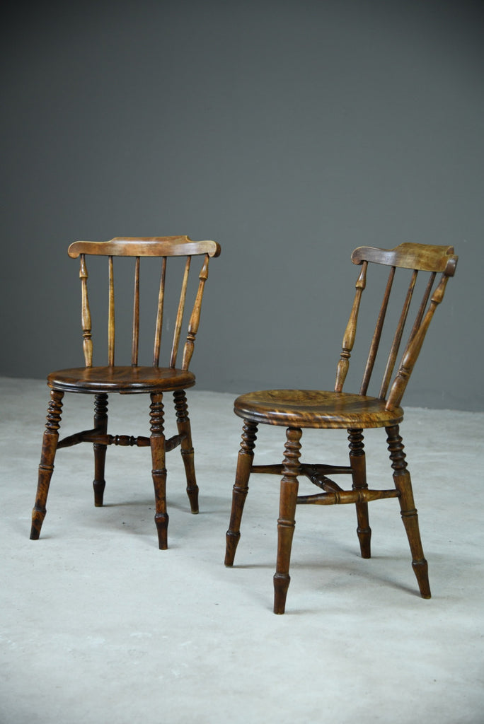Pair Ibex Penny Dining Chairs