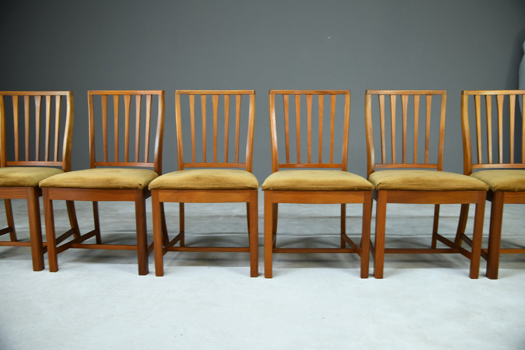 6 Retro McIntosh Dining Chairs