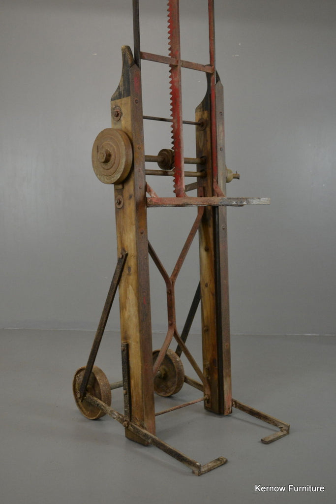 Vintage Industrial Ratchet Sack Trucks Trolley - Kernow Furniture 100s vintage, retro & antique items in stock
