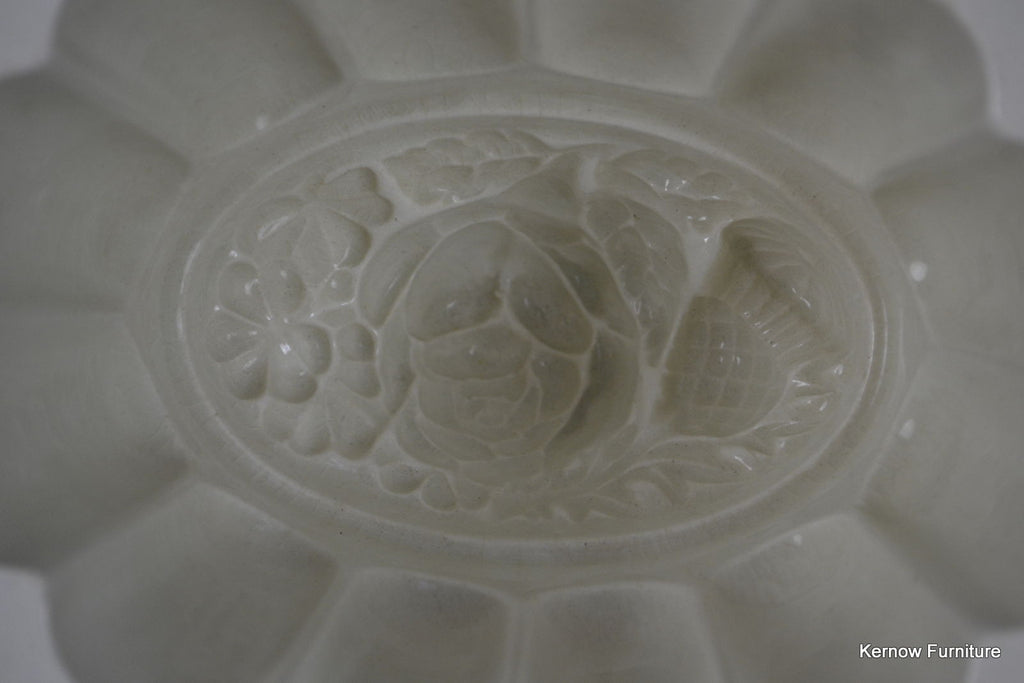 Large Stoneware Jelly Mould - Kernow Furniture