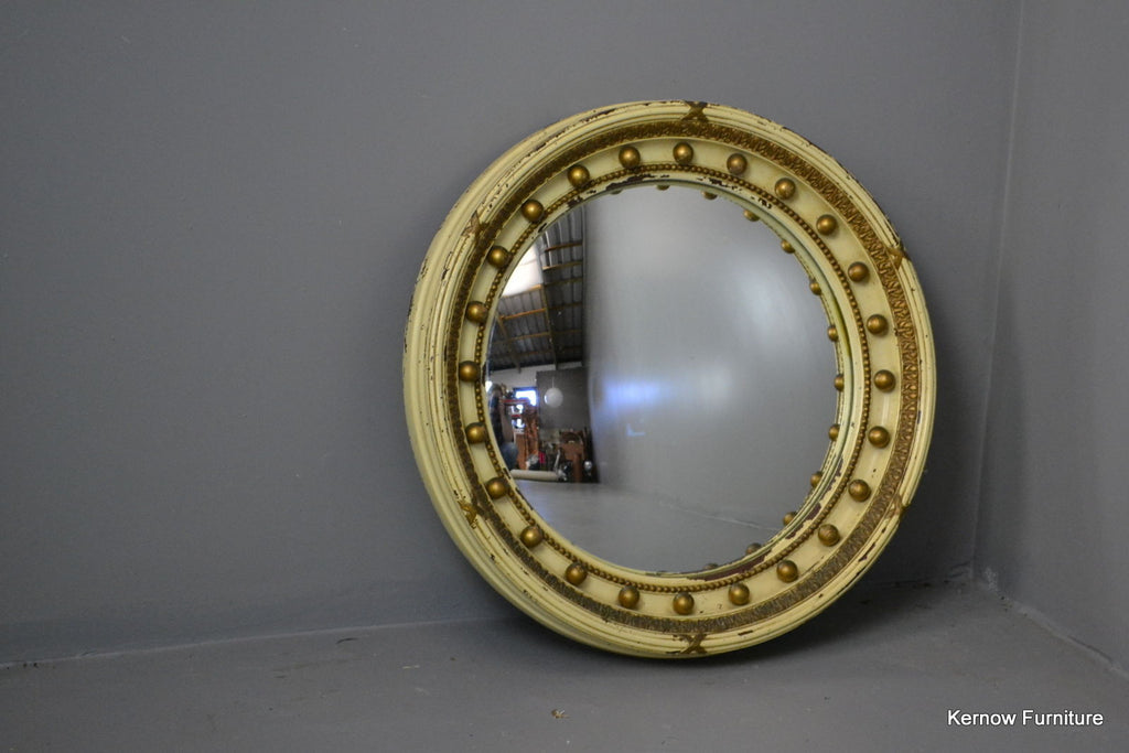 Regency Style Round Mirror - Kernow Furniture 100s vintage, retro & antique items in stock