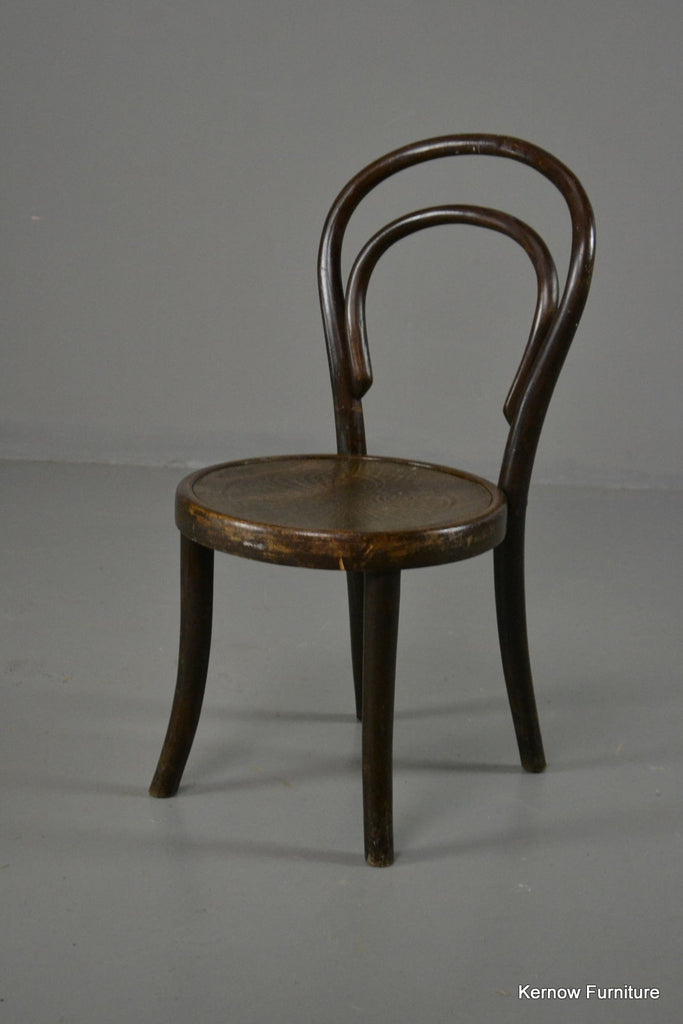J & J Kohn Childs Bentwood Chair - Kernow Furniture 100s vintage, retro & antique items in stock