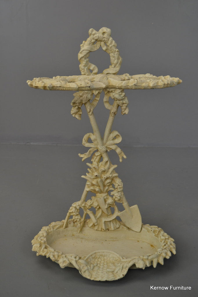 Victorian Style Cast Iron Umbrella Stand - Kernow Furniture - 1